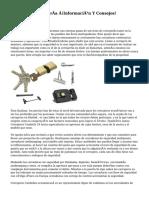 Blog Sobre Cerrajería ¡Información Y Consejos!