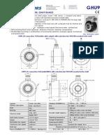 GHU9 Optical Incremental Encoder En