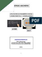 Aplicación Alfanumérica Inicial (Aschero)
