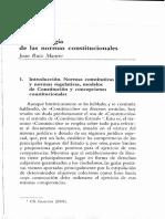 Tipologia de Normas Constitucionales