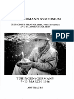 98 Bengtson 1996 - Geologisch-Paläontologisches Institut Der Universität Kiel, Berichte–Reports