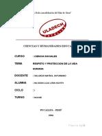 RESPETO Y PROTECCION DE LA VIDA HUMANA.docx