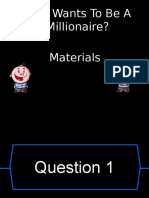 Materials Wwtbam CW