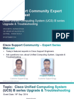 Cisco Support Community Expert Series Webcast