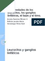 Enfermedades de los leucocitos, los ganglios linfáticos, el bazo y el timo