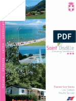Camping St Disdille Brochure 2010