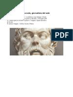 La Filosofia Di Socrate Sul Web