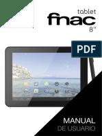 Manual Tablet FNAC 8