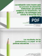 La Evaluación Como Insumo Para Planeacion Institucional (2)