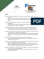 fluency bibliography