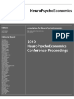 2010 NeuroPsychoEconomics Conference Proceedings