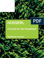 (Guides for the Perplexed) Matheson Russell-Husserl_ a Guide for the Perplexed-Continuum International Publishing Group (2006)
