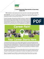 Northwire Presents Cable Engineering Opportunities at Upcoming Career Fair