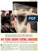WE FLEW ABOVE FLYING SAUCERS  By William B. Nash & William H. Fortenberry