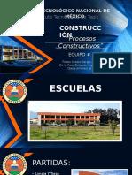 Procesos Constructivos de Escuela