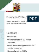 European Postal Services