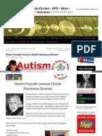 Misteri Penyakit Autisme Dibalik Kejeniusan Einstein