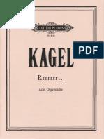 Mauricio Kagel - Rrrrrrr Score (Organ)