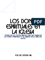 (2)Los Dones en La Iglesia Del Señor(2015)
