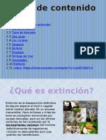 Extincion de Animales Santiago Perez Voltio