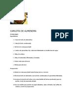 Carlota de Almendra