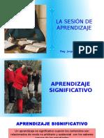 Sesión de Aprendizaje -Inicio