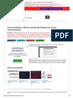 Eclipse No Linux - Veja Como Instalar a Última Versão Manualmente