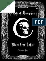 Volume 1 Blood, Iron and Sulfur