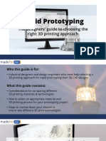 Rapid Prototyping Guide for Designers and Engineers