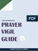 Prayer Vigil Guide