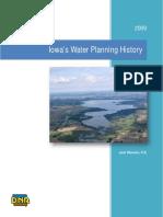 Iowa's Water Planning History
