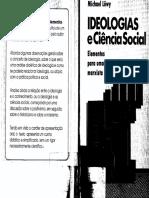 Michael Löwy - Ideologias e Ciência Social_Elementos Para Uma Análise Marxista.