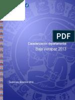 Caracterización de la Pobreza en Baja Verapaz