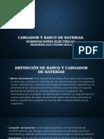 Cargador y Banco de Baterias