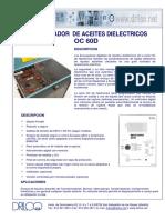 Hipotronics OC60 D