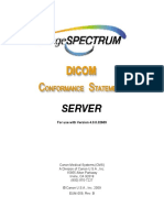 EUM-059 Rev. B, DICOM Conformance Statement Server v.4