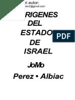 Origenes Del Estado de Israel   J M Perez