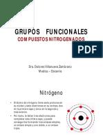 Compuestos Nitrogenados 2015 Modo de Compatibilidad