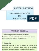 Estandarizacion de Soluciones