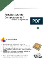Arquitecturas de Computadoras II- Ciclo Ejecucion Instrucciones