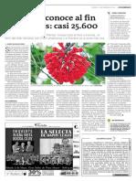 Colombia conoce al fin sus plantas