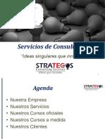 Servicios Profesionales Strategos Consulting Services 2016