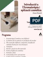 Aromaterapia Cosmetica