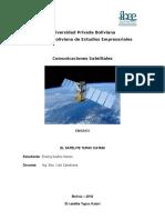Comunicaciones Satelitales - Satélite Tupac Katari