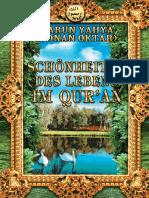 Schönheiten Des Lebens Im Qur'an. German Deutsche
