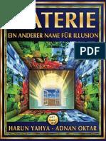 Materie, Ein Anderer Name Für Illusion. German Deutsche
