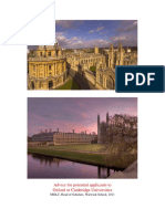 Oxbridge Advice Booklet 2011_0