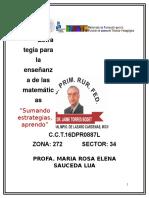 Rlúa_word_estrategia Para La Enseñanza de Las Matemáticas