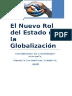 El Nuevo Rol Del Estado en La Globalizacion