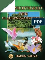Die Wichtigkeit Der Glaubenswahrheiten. German Deutsche